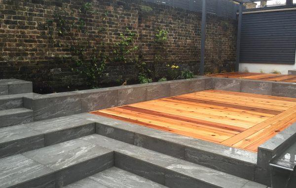 Multi Level Outdoor Room